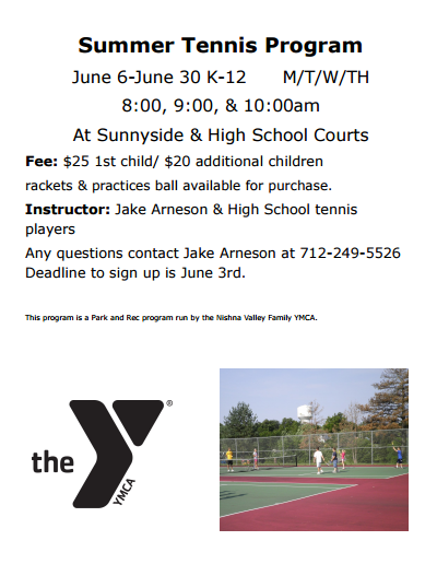 2016 Youth Tennis