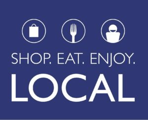 Shop.Eat.Enjoy LOCAL logo